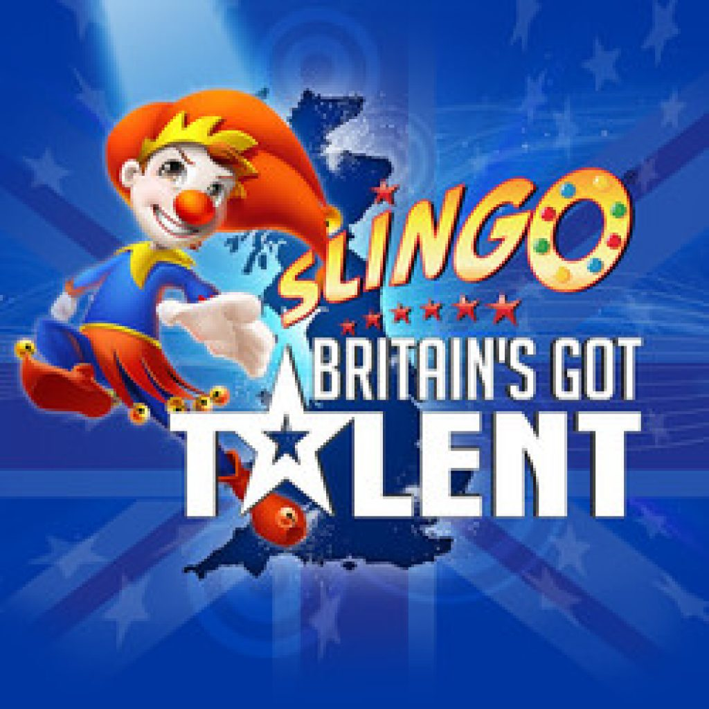 Britain's got talent slingo logo